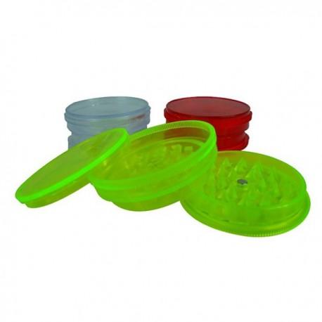 Grinder en plastique 3 parties