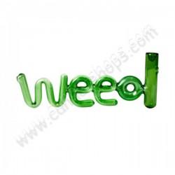 Pipe en verre Weed