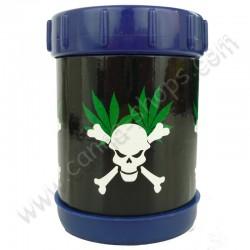 Pollen Shaker Skull Leaf pour extraire le pollen de vos têtes de cannabis