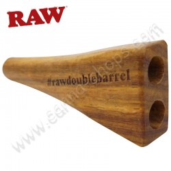 Raw Double Barrel King Size porte cigarettes ou fume cigarettes