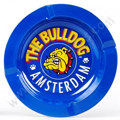 Cendrier The Bulldog Amsterdam en métal Bleu