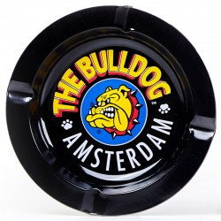 Black Metal Ashtray The Bulldog Amsterdam
