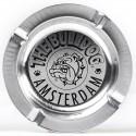 Cendrier The Bulldog Amsterdam métal argent