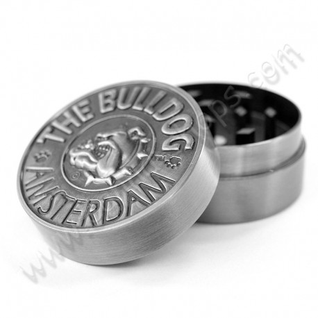 The Bulldog Amsterdam Metal Grinder 2 Parts 40mm