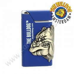 Briquet tempête ou briquet turbo The Bulldog Amsterdam Bleu