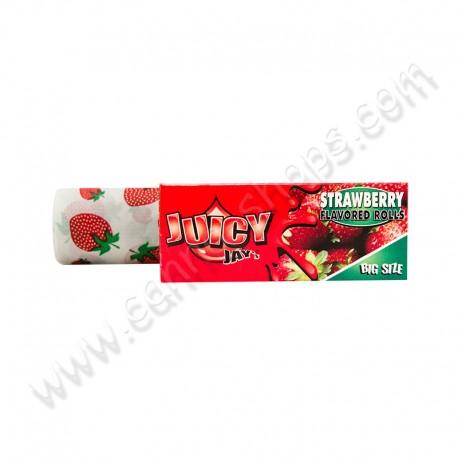 Rouleau de feuilles Juicy Jays aromatisées à la fraise