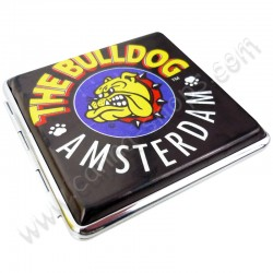 Caixa de metal para cigarros The Bulldog Amsterdam