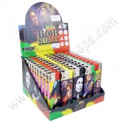 Briquets Bob Marley électroniques et rechargeables