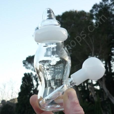 Biberon Dabber bubbler en forme de biberon