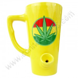 Cannabis Mug Pipe