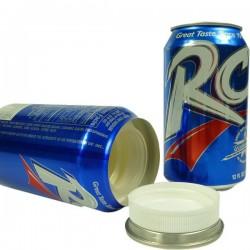 Tipo de caché lata de coca