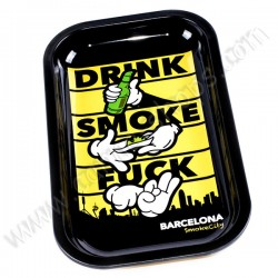 Plateau fumeurs Barcelona Smoke City
