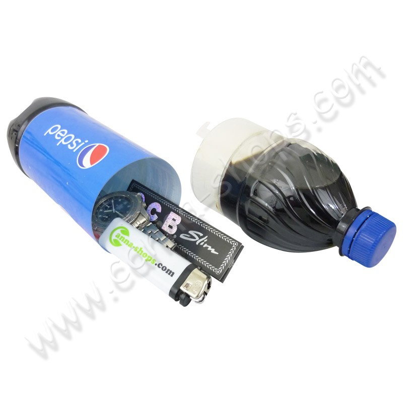 Bouteille Pepsi cachette
