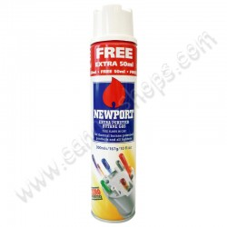 Newport Gas butane zero impurities