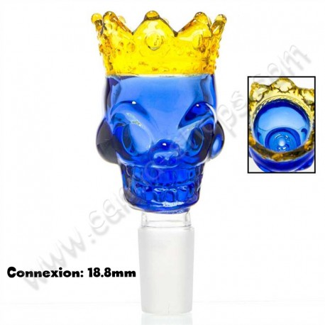Douille King Skull de la marque Grace Glass