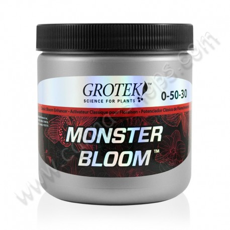 Monster Bloom 130gr booster de floraison de chez Grotek