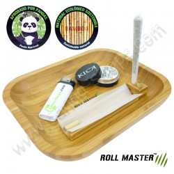 Plateau en bambou Roll Master avec aimants