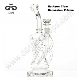 Bubbler Grace Glass Recycler Slithole Diffuser