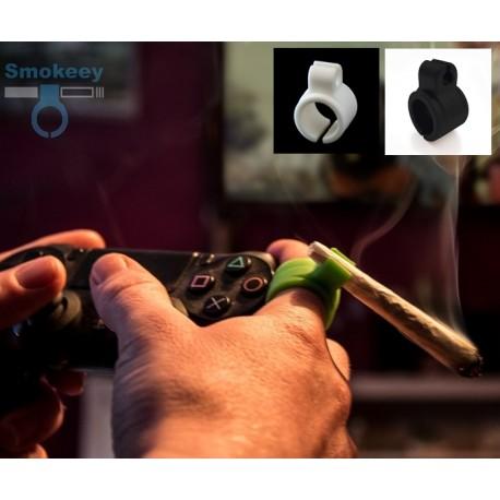 Smokeey bague en silicone pour les gamers et fumeurs