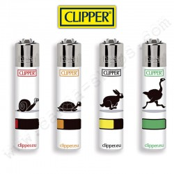 4 briquets Clipper Animals Energy