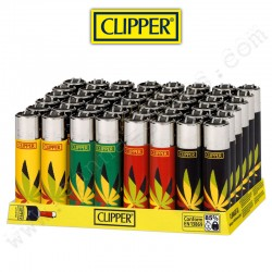 Lot de 4 Clipper Micro Leaf