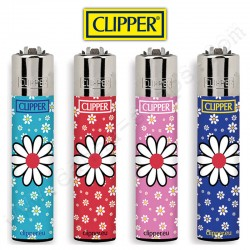 Briquets Clipper Flower n°2