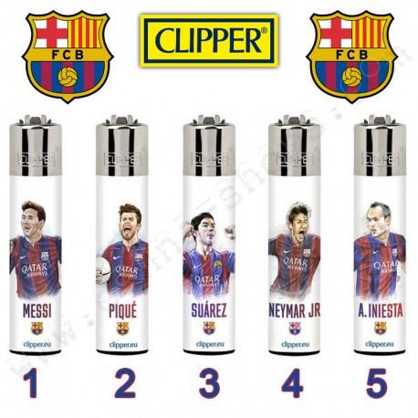 Briquets Clipper Joueurs du Barca