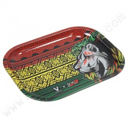 Rolling Tray First Earth Lion Rasta