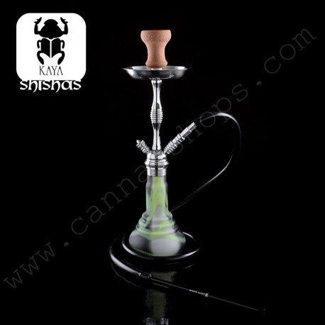 Kaya Shisha Frosted Earthquake Chrome