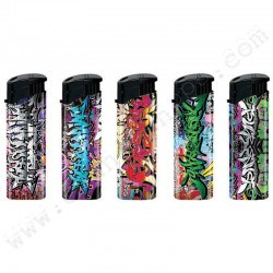 Graffiti Electronic Lighters