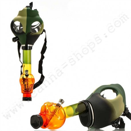 Army Gas Mask Bong