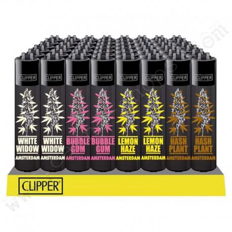 4 Briquets Clipper Cannabis variétés 1