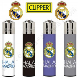 Clipper Real de Madrid, lot de 4 briquets officiels
