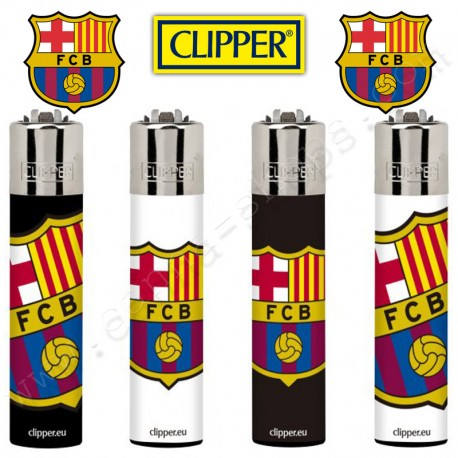 Briquets Clipper officiels Barca Escudos 2