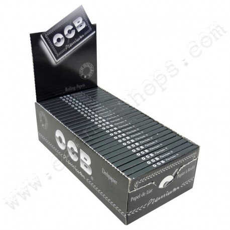 Box of OCB premium regular double
