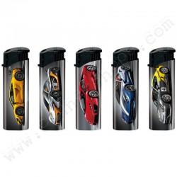 Briquets électroniques Racing Cars