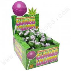 Sucettes Cannabis Bubble Gum x Purple Haze