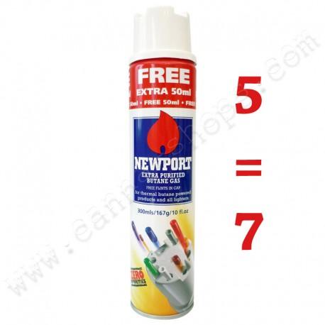 Pack refill lighter gas butane Newport