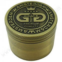 Grinder Grace Glass Gold pollinator 50mm