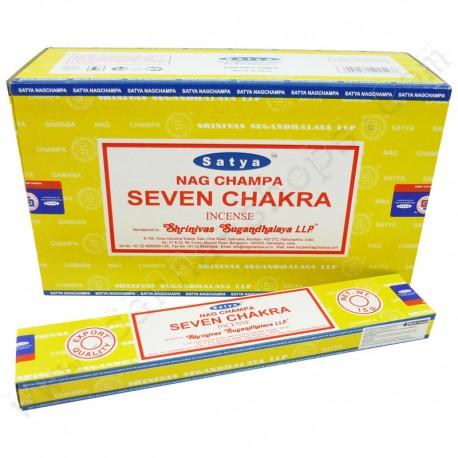 Encens Nag Champa Seven Chakra 15g