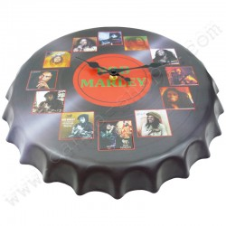 Horloge murale Bob Marley diamètre 40cm