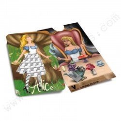 Alice in Wonderland Grinder Card