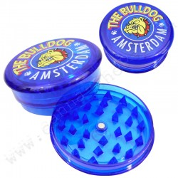 Grinder the bulldog Amsterdam blau 3 parts