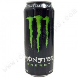 Lata Monster Energy Drink con compartimiento