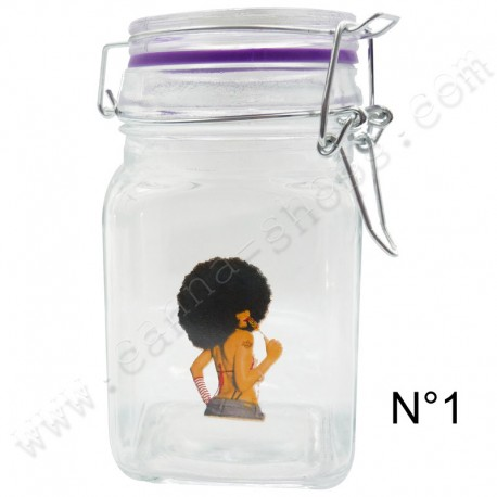 Jar en verre Juicy Jay's Afro