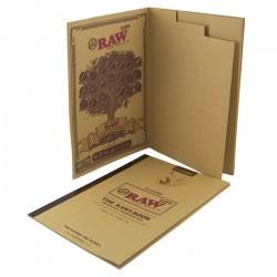 Cahier de filtres en carton The Raw Book Filter