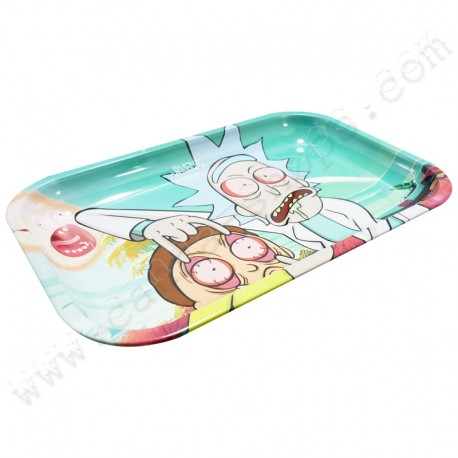 Rolling Tray Ricky and Morty Get Schwifty