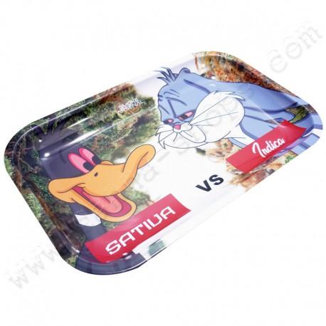 Plateau Daffy Duck VS Bugs Bunny