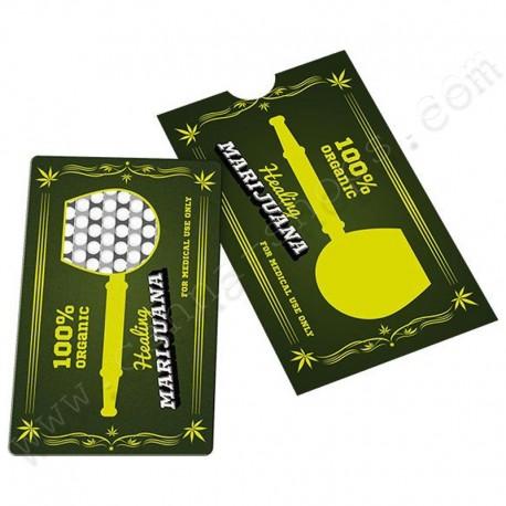 Grinder card Organic Marijuana