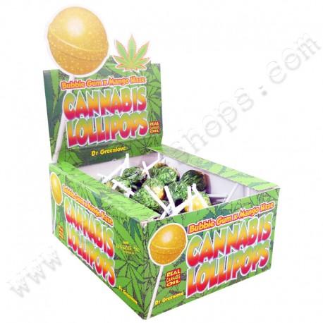 Cannabis Lollipop Bubble Gum x Mongo Haze